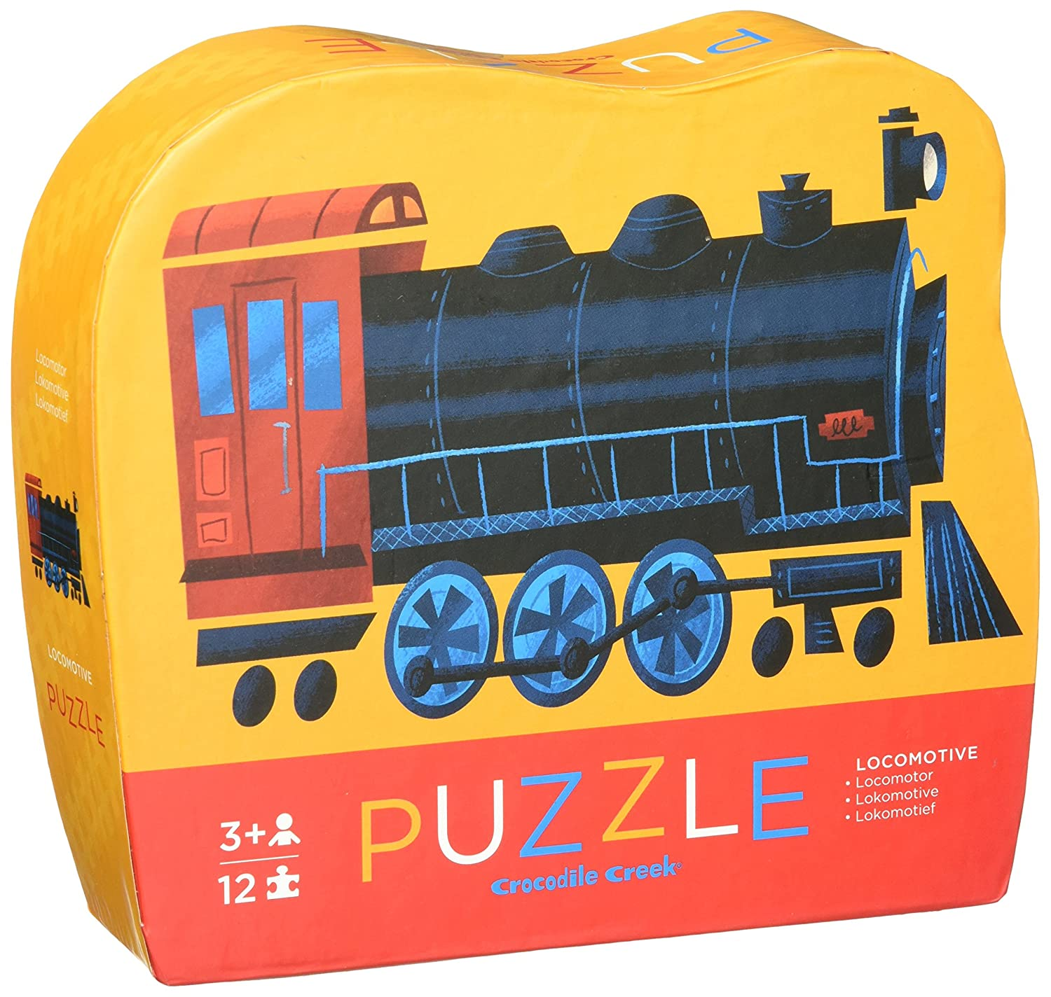 Crocodile Creek Locomotive Train Jigsaw Puzzle (12 Piece) by Crocodile Creek