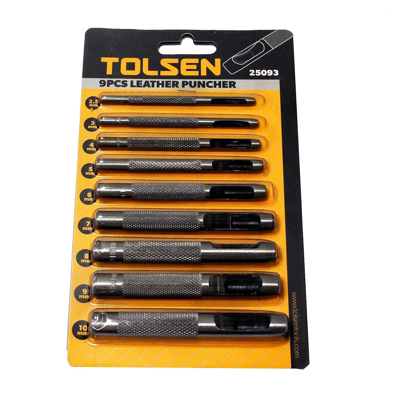 /9/Chisel Kit perforadores Circular Hollow Punch Tool tolsen hw24-vces/