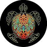 Turtle #4 multi color shell Tire Cover for Jeep RV Camper VW Trailer etc(Select popular sizes from drop down menu or contact us-ALL SIZES AVAILABLE)