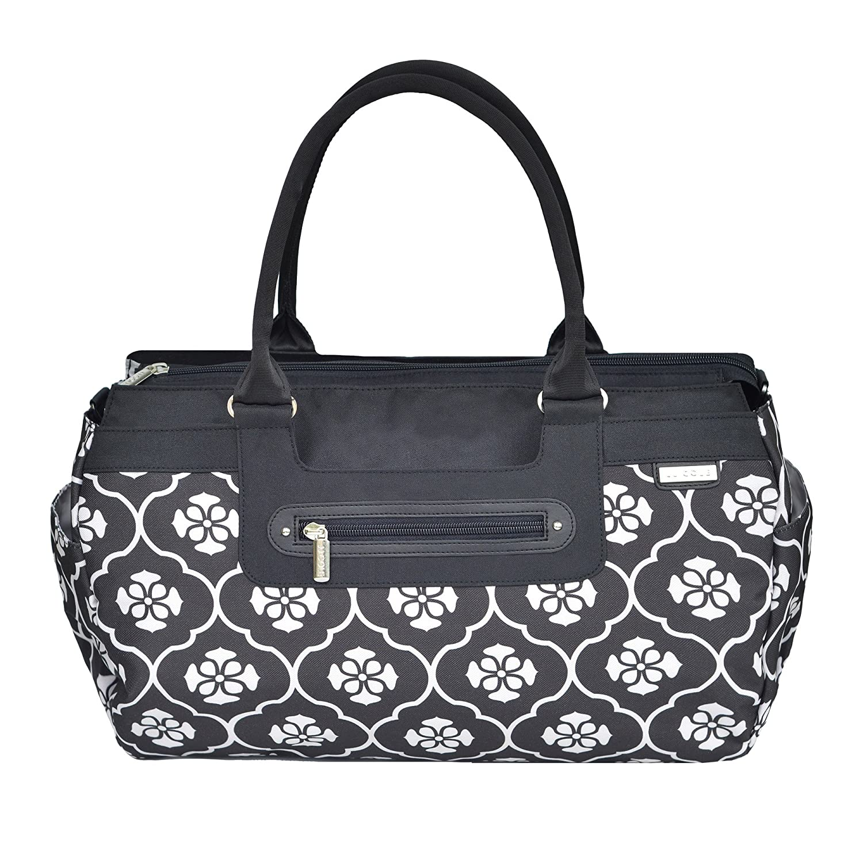 JJ Cole Parker Diaper Bag, Black Floret by JJ Cole B00QC282A0