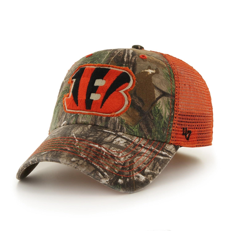 a01591cabc2 Amazon.com   NFL Arizona Cardinals  47 Huntsman Closer Camo Mesh Stretch  Fit Hat