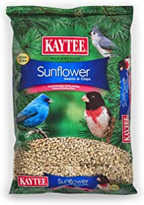 Kaytee Sunflower Hearts and Chips Seed, 3-Pound
