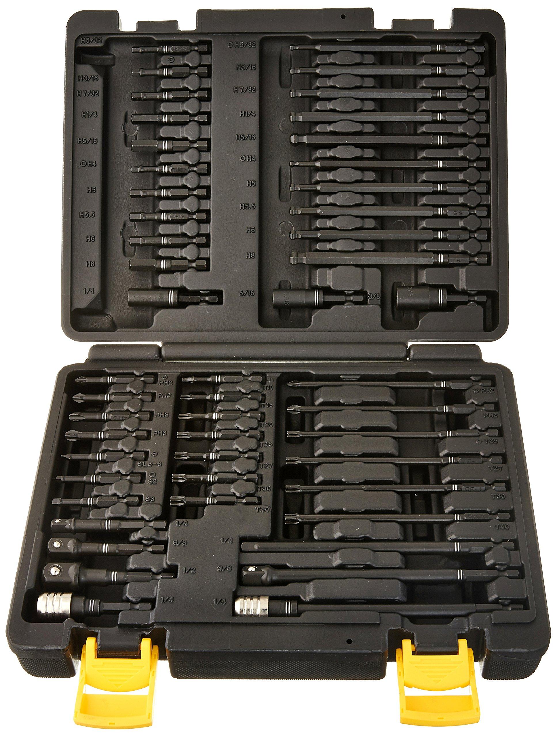 Titan Tools 16251 Torsion Impact Bit Set (50 Piece) by Titan Tools