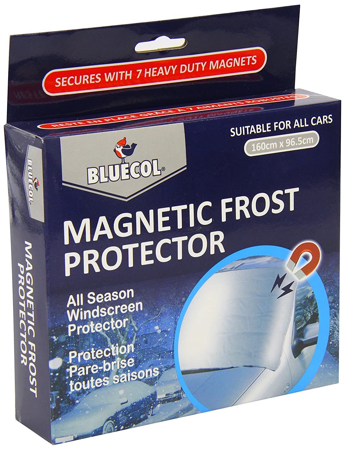 Bluecol Nf56245 Magnetic Car Windscreen Frost Cover Bluecol