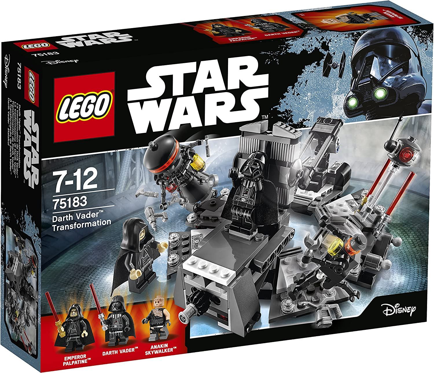 - Amazon.com: LEGO Darth Vader Transformation Construction Toy: Toys
