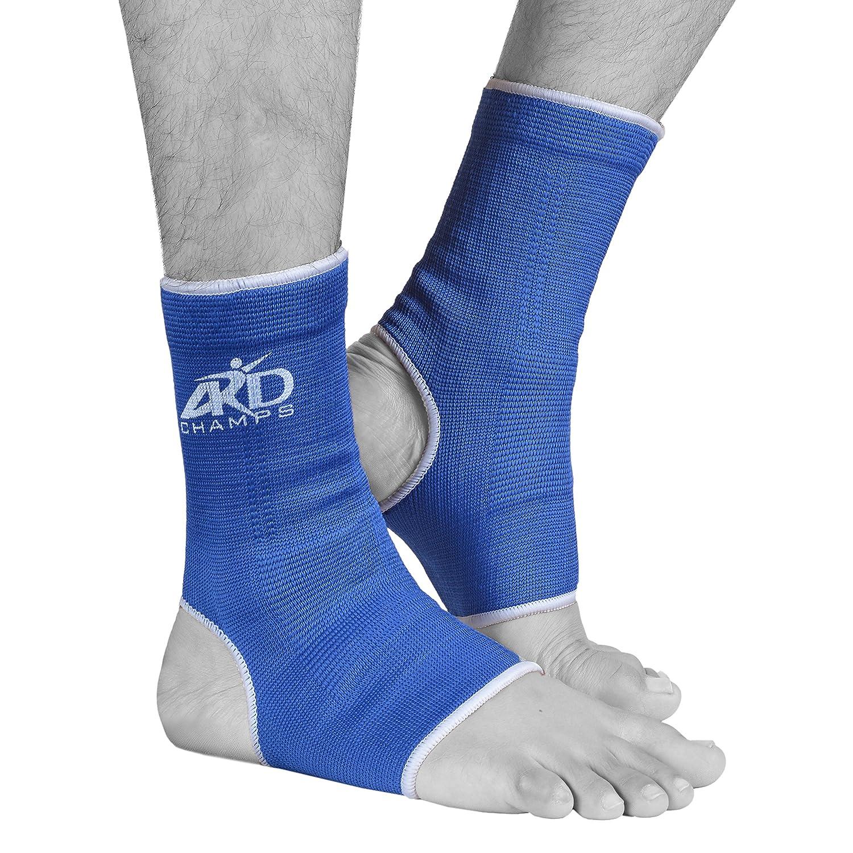ARD伸縮性足首ブレース足脚サポート痛み、Injury Relief脚&足 B00N1XUUBW ブルー X-Large