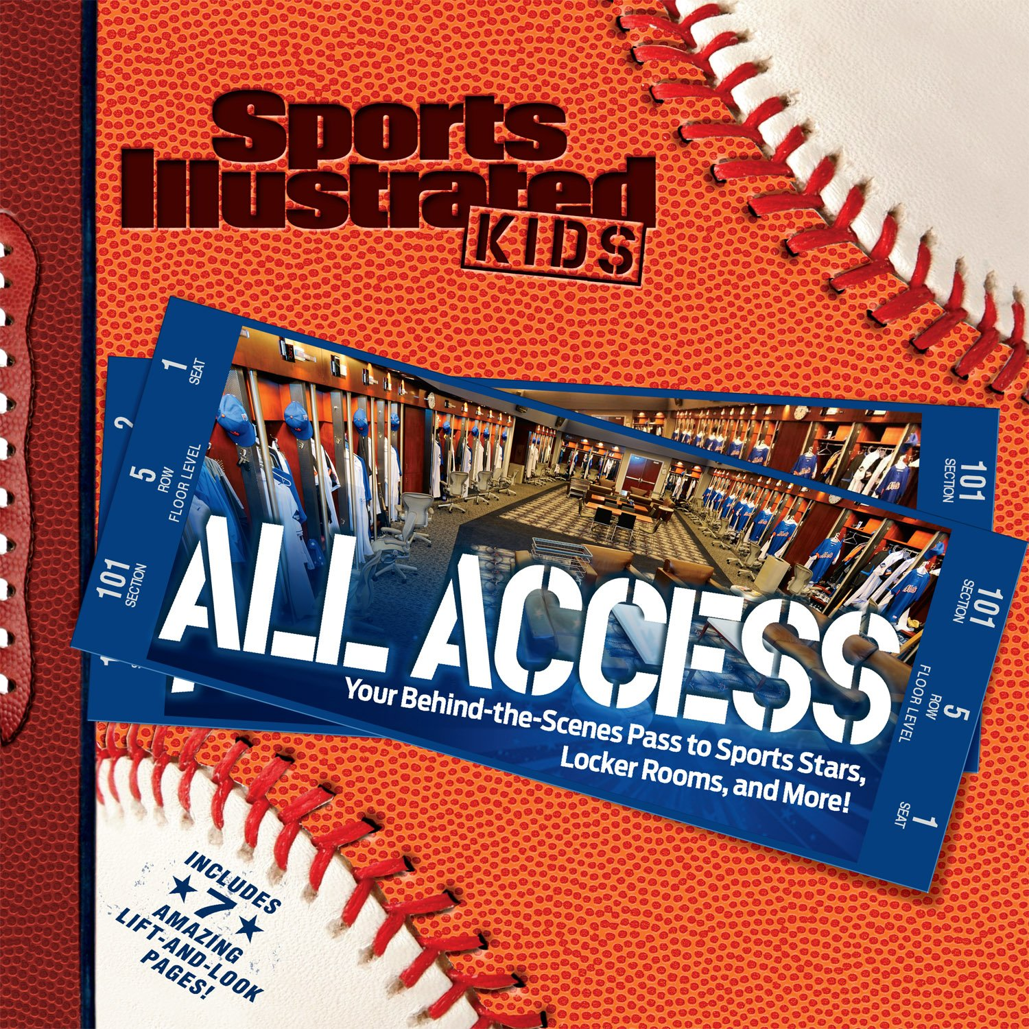 991782f4 Sports Illustrated Kids All Access: Your Pass to Behind the Scenes ...