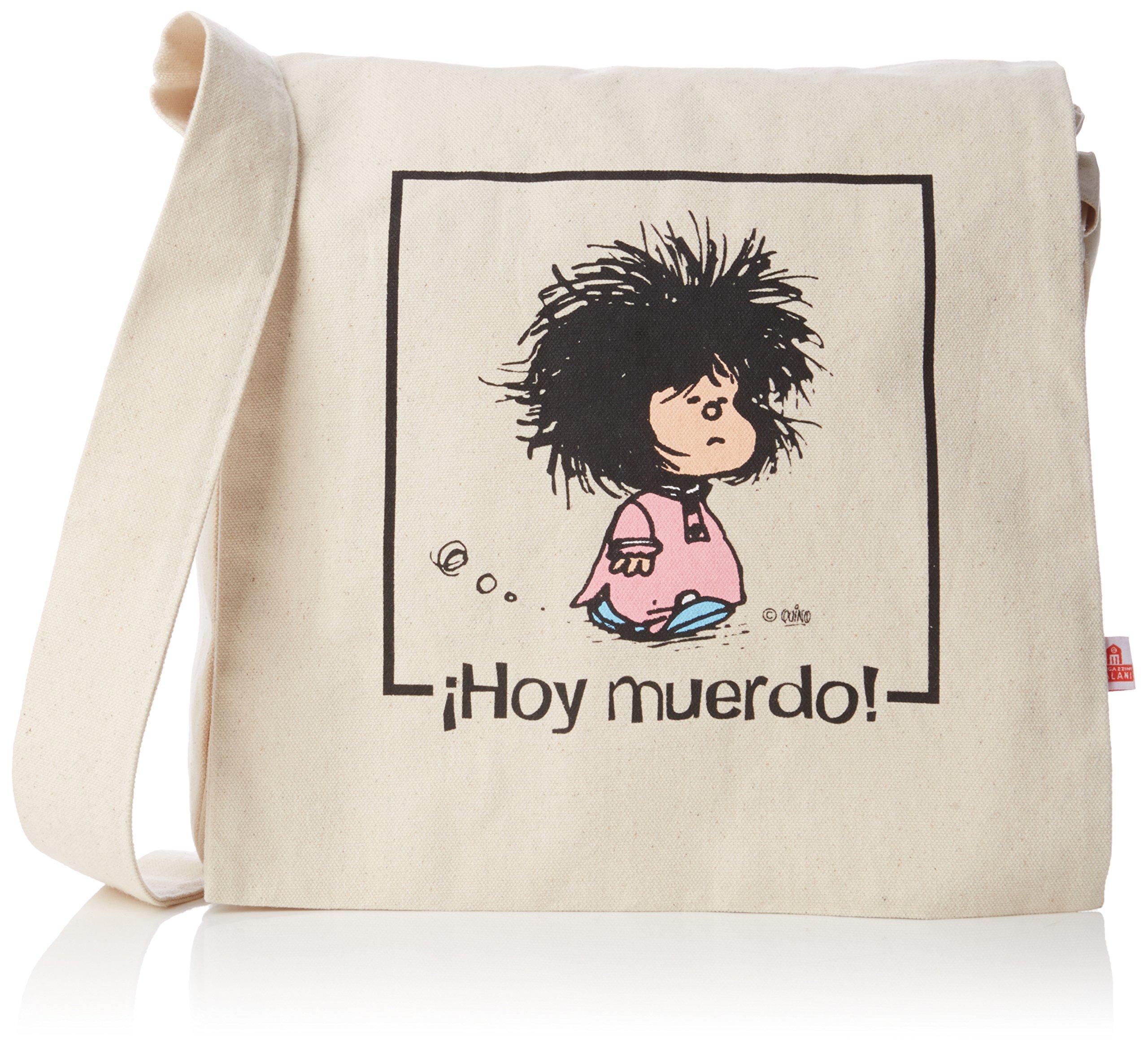 BANDOLERA MAFALDA HOY MUERDO: Amazon.es: Quino: Libros