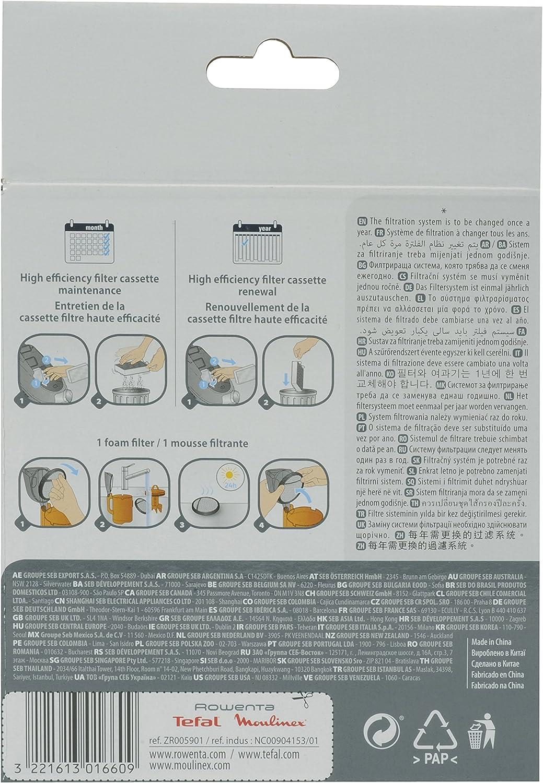 Rowenta Tefal Moulinex Kit de filtración, compatible solo para ...
