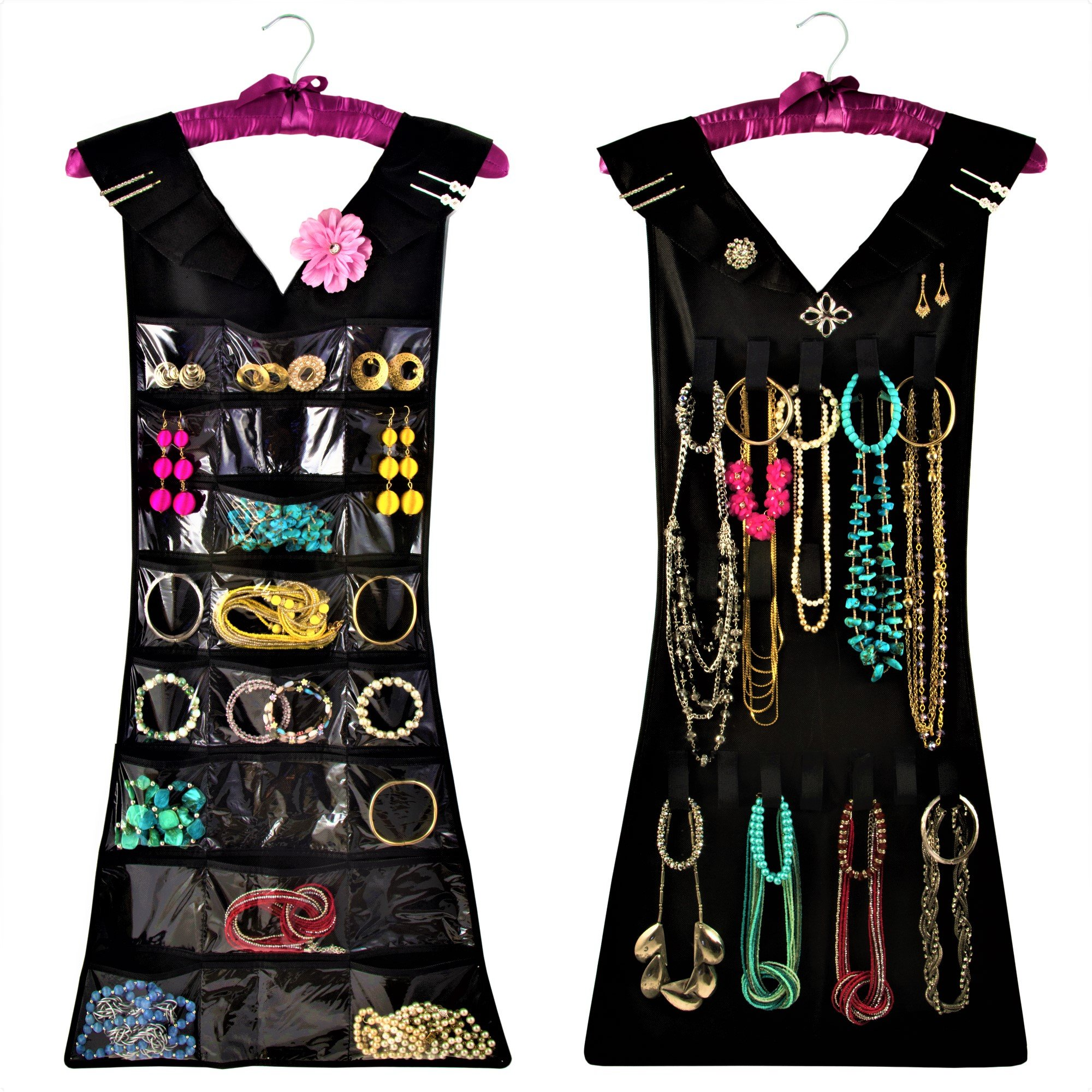 Marcus Mayfield Hanging Jewelry Organizer, Closet