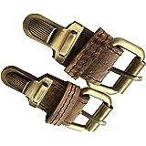 a14c3442c4b8 Amazon.com: Ohio Travel Bag Large Antique Brass Plate Tuck Lock Clasp