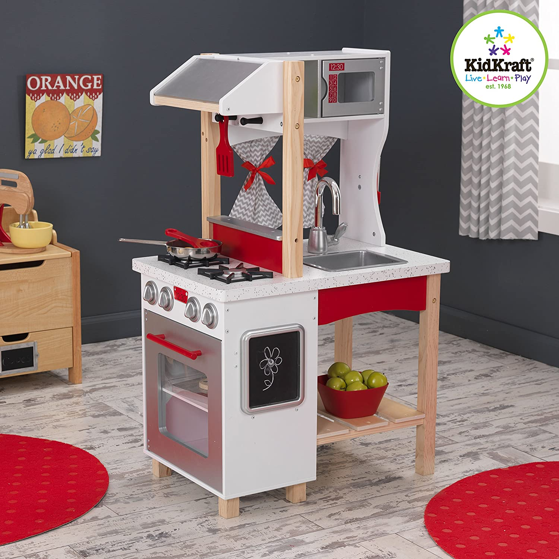 Kidkraft Modern Island Kitchen Toys Games Amazon Com