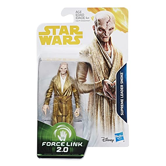 Film, TV & Videospiele STAR WARS CARDED FORCE LINK 2.0 SUPREME LEADER SNOKE LAST JEDI