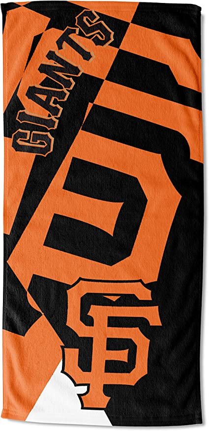 Officially Licensed MLB San Diego Padres Puzzle Beach Towel 34 x 72 Multi Color