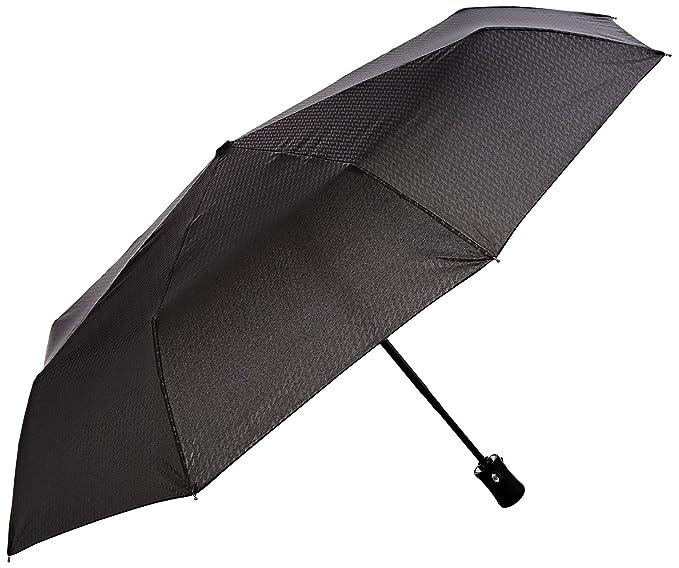 Kipling Umbrella R, Paraguas Mujer, Negro (Plover Black), One Size(