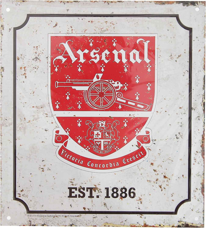 Arsenal Unisex Retro Logo Sign, Multi-colour