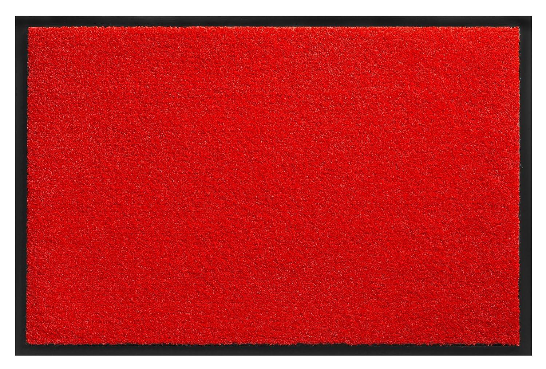 Fußmatte Uni Größe Farbe wählbar, Türvorleger Türvorleger Türvorleger Bodenmatte Schmutzfangmatte Fußabtreter (90 x 120 cm Grau) B01BHV9NF8 Fumatten 15a9b4