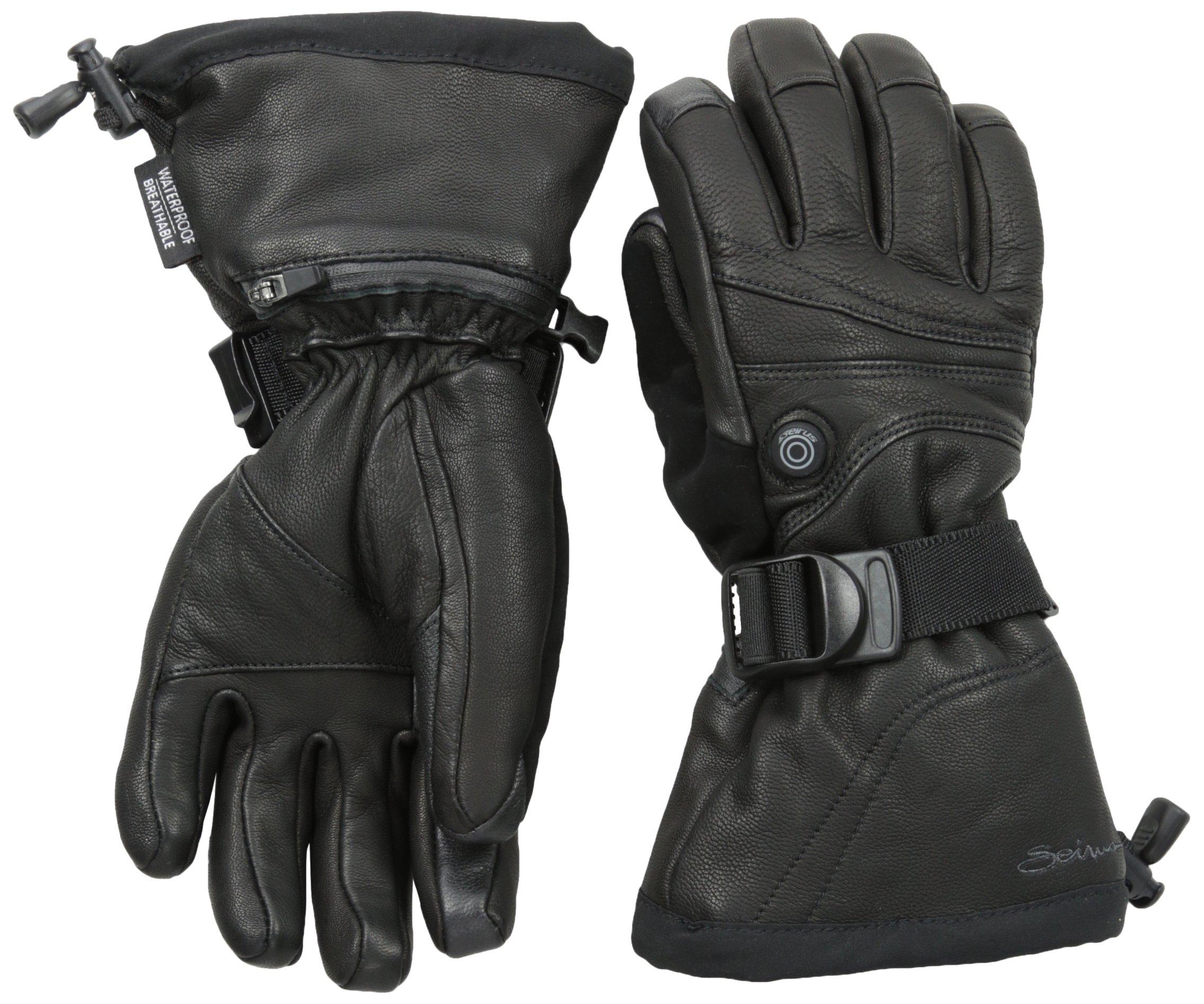 Seirus Innovation Women's Heat Touch Ignite Gloves, Medium, Black by Seirus Innovation (Image #1)