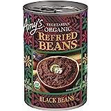 Amy's, Beans Refried Black, 15.4 oz