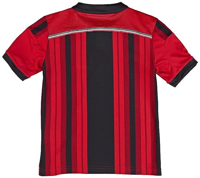 AC MILAN Adidas Camiseta de equipación de fútbol para hombre, color rojo negro: Amazon.es: Ropa y accesorios