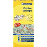 Michelin Map France: Corrze, Dordogne
