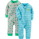 Simple Joys by Carter's Baby-Boys 2-Pack Cotton Footless Sleep and Play