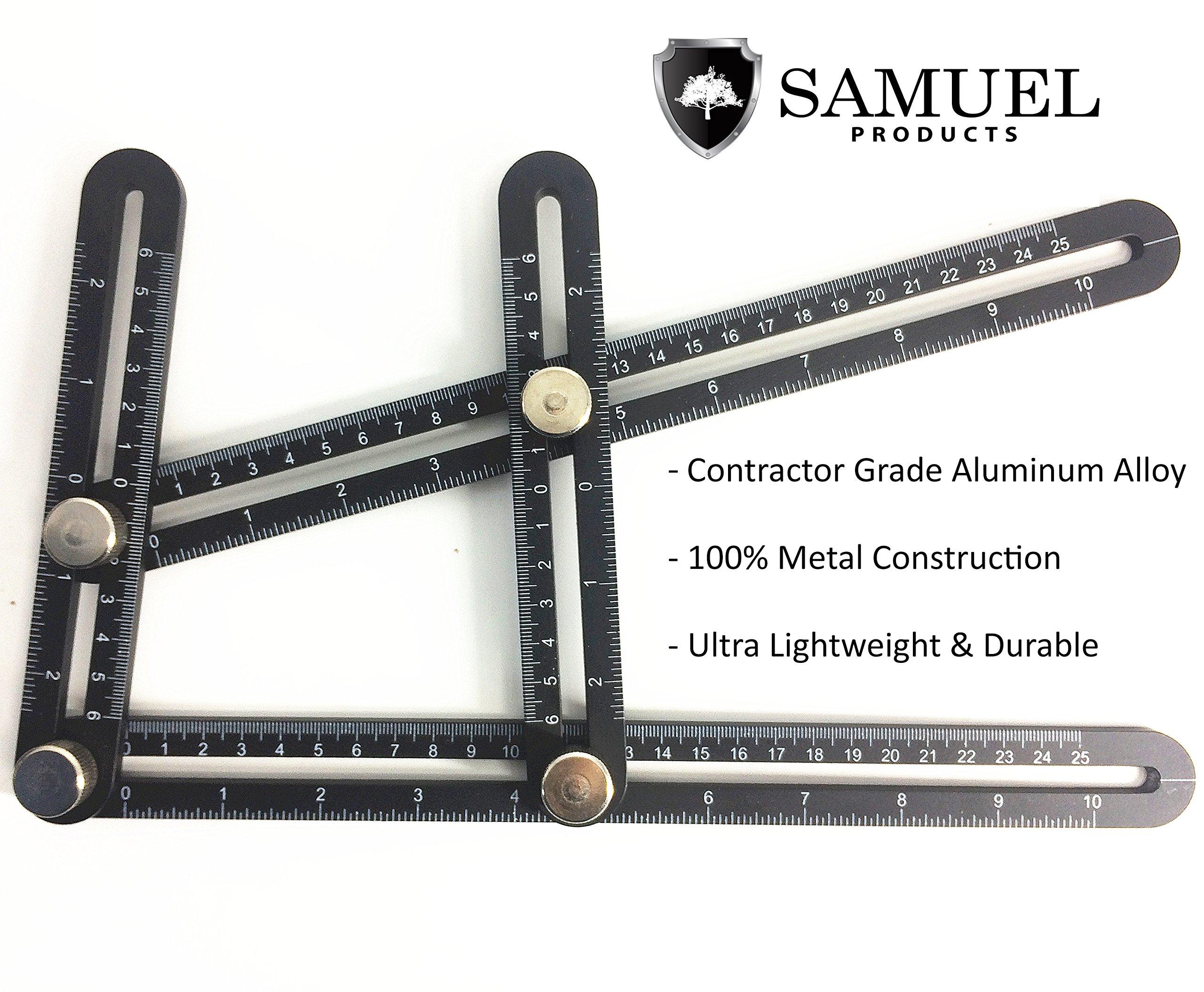 Template Angle Tool-set: Aluminum Alloy Angleizer Tool for ...