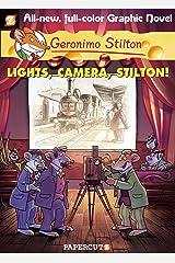 Geronimo Stilton Graphic Novels #16: Lights, Camera, Stilton! Kindle Edition