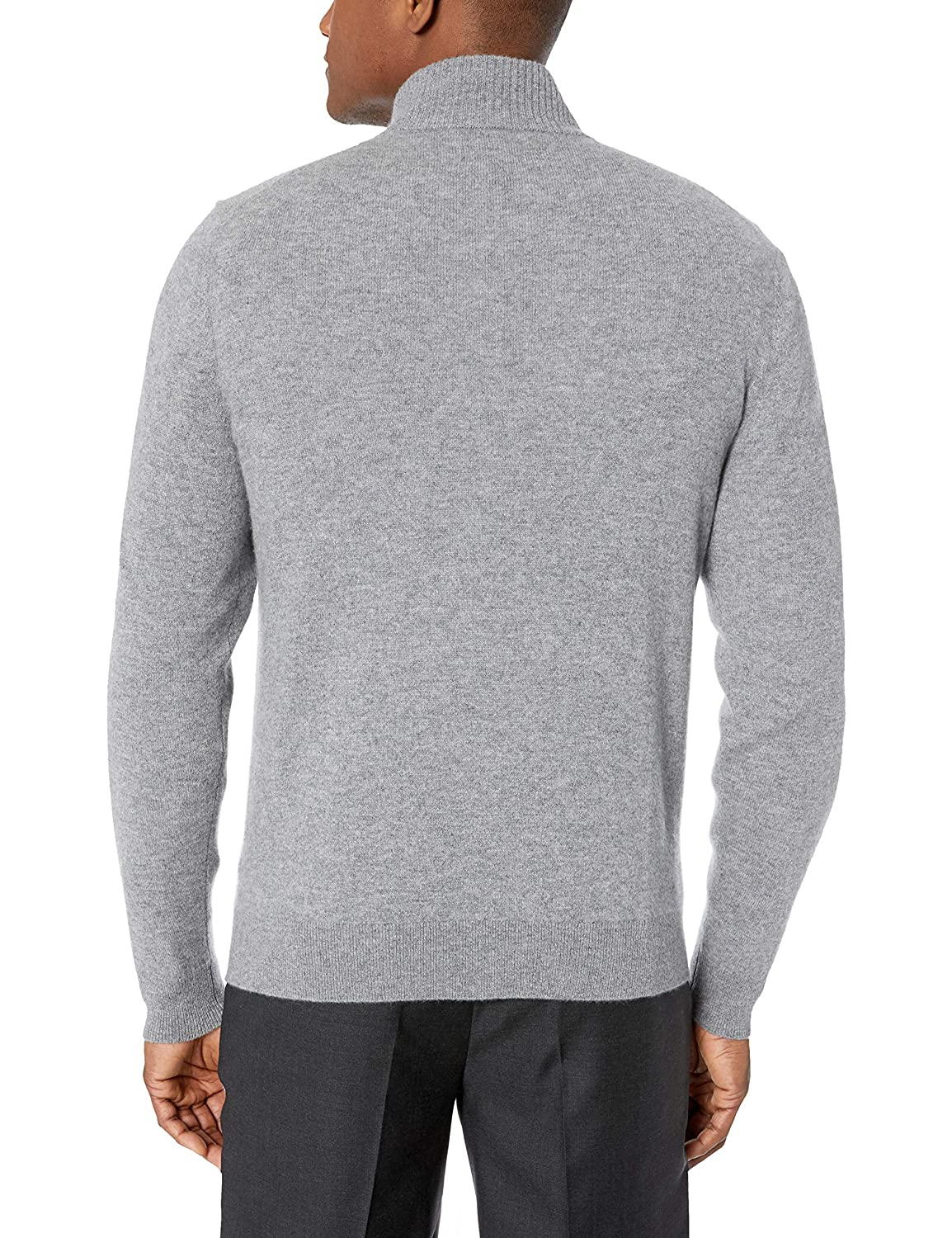 BUTTONED DOWN Mens 100/% Premium Cashmere Full-Zip Sweater MBD35004 Brand