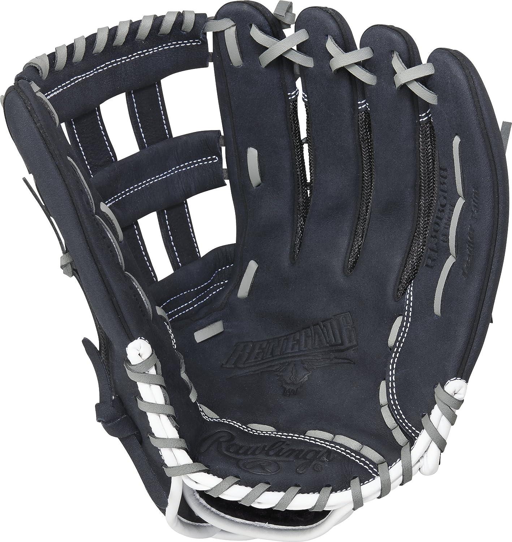 Rawlings Renegade Serie Pro guante de respaldo de malla color negro