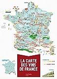 La carte des vins de France