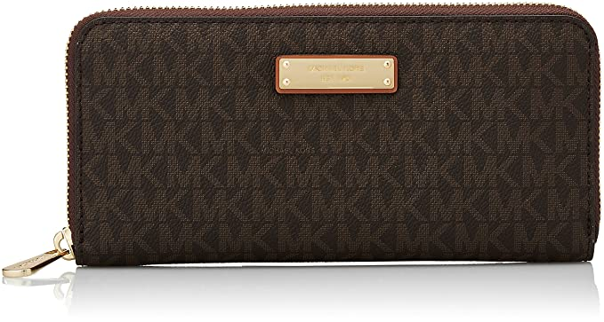 0435f129ba9b Amazon.com  Michael Kors Women s Jet Set Continental Wallet