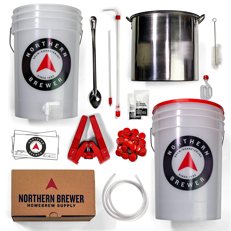 Amazon.com: Northern Brewer Brew. Share. Enjoy. HomeBrewing Starter ...