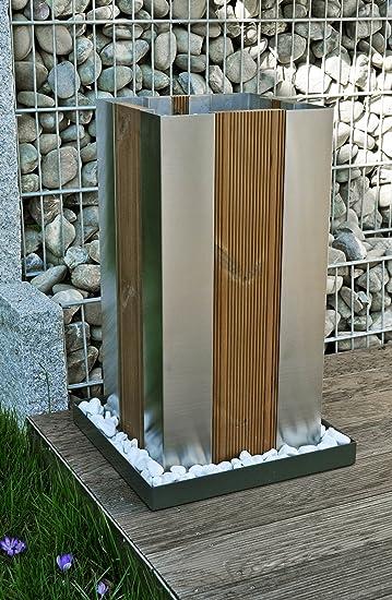 Edelstahl-Pflanzkübel Portal-3 Blumentopf / Blumenkübel ...