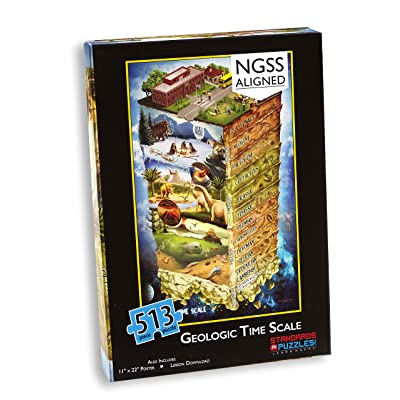 Geologic Time Scale Puzzle and Lesson Plan: Toys & Games