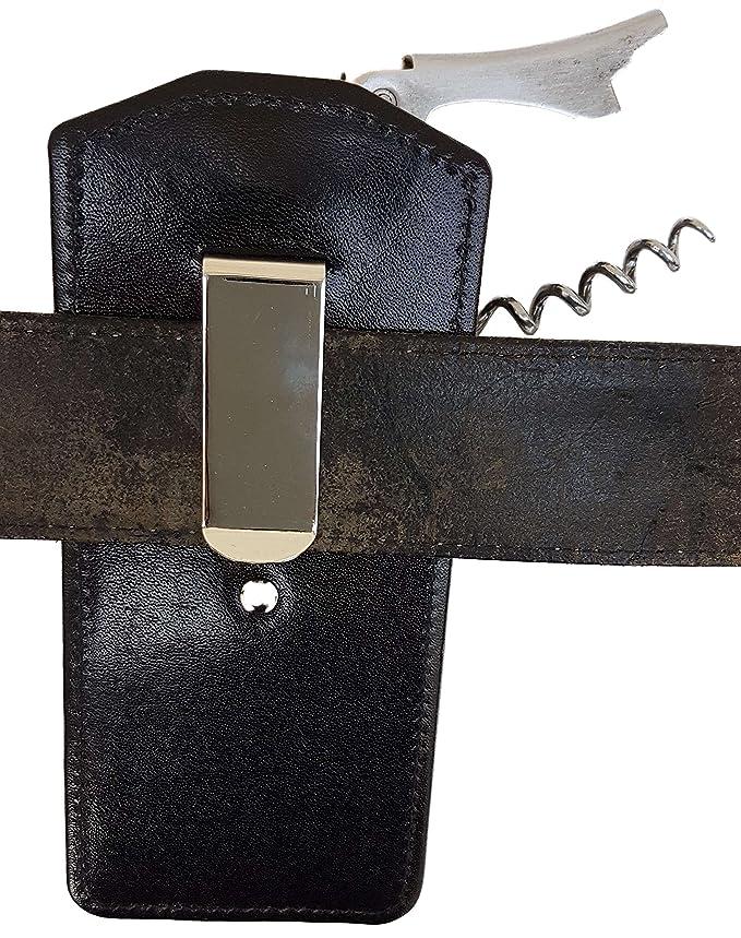 Compra CLAIRE-FONCET Estuche, Funda de cinturón: para llevar Abrebotellas / Bolígrafo o Funda para Sacacorchos y Bolígrafo, Camarero, Camarera, ...
