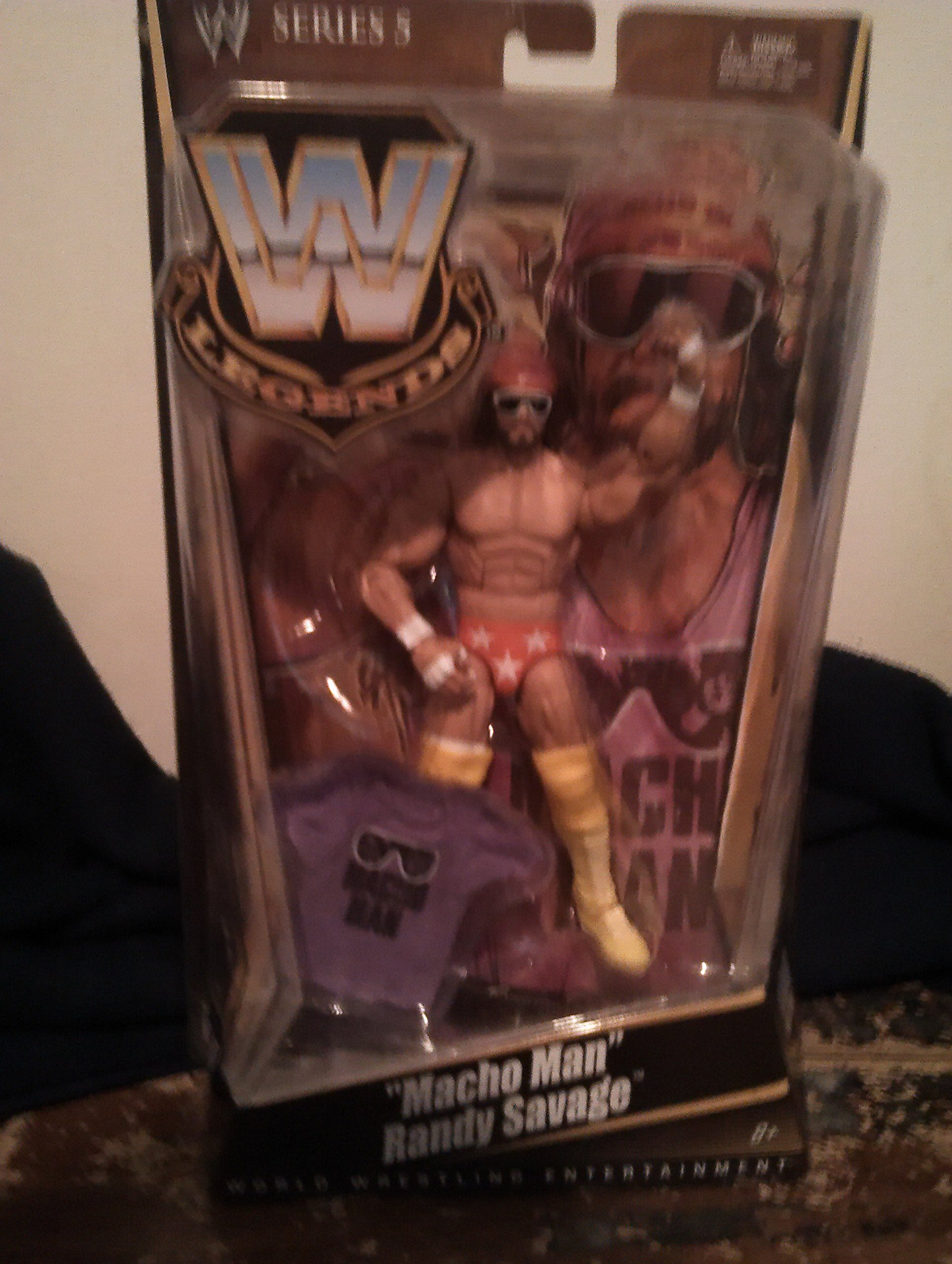 WWE Legends Macho Man Randy Savage Collector Figure Series #5 by Mattel