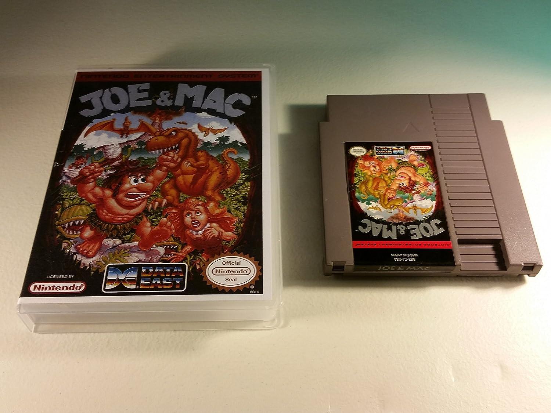 Amazon.com: Joe & Mac - Nintendo NES: Video Games