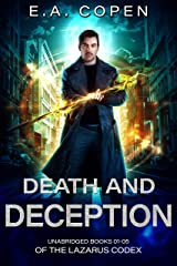 Death And Deception (The Lazarus Codex Books 01-05): Death Rites, Organ Grind, Shallow Grave, Knight Shift, and Death Match Kindle Edition