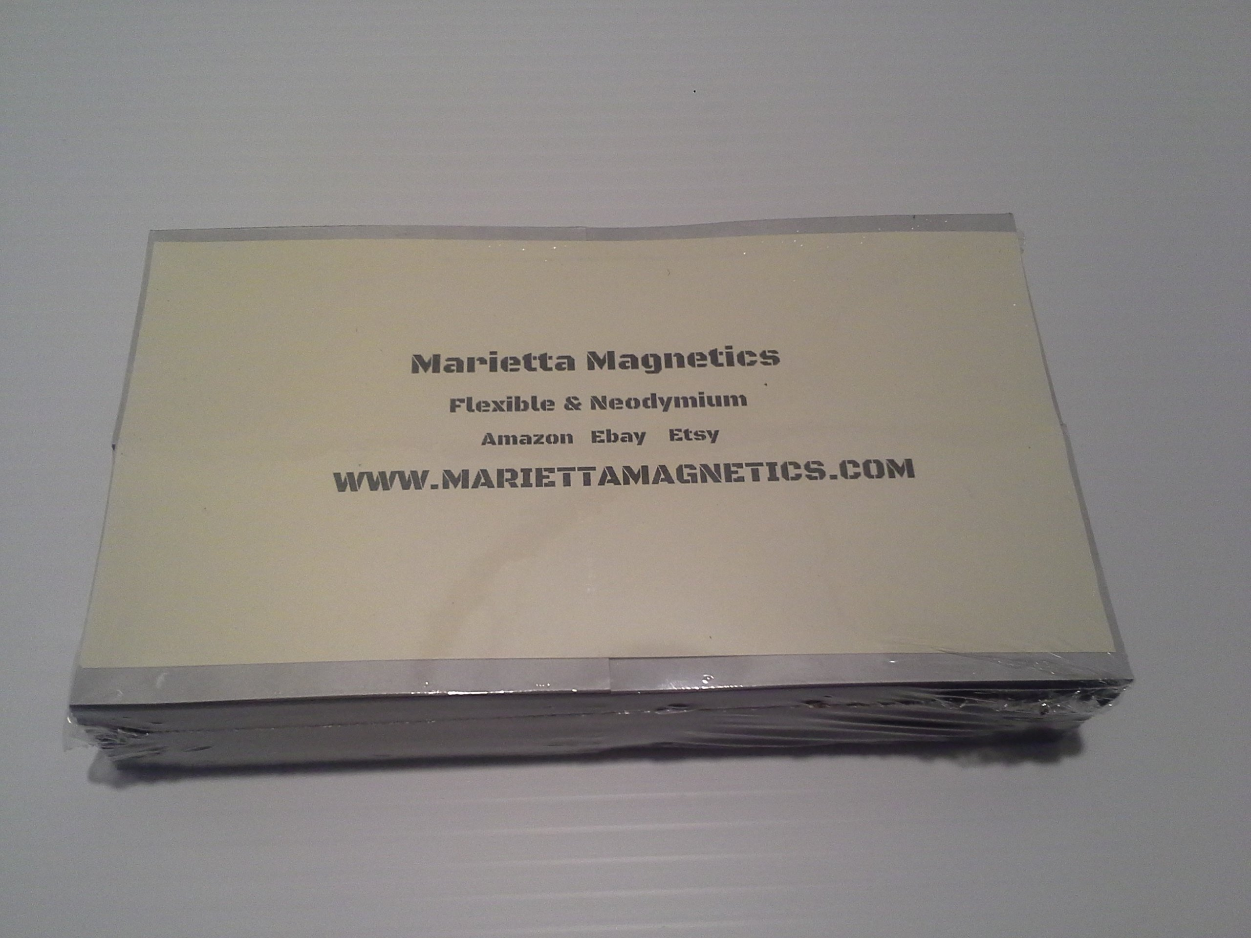 Marietta Magnetics - Self Adhesive Business Card Magnets 250pc