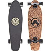 Black Longboards Collection   Longboard Skateboard Complete   Exotic Wood with Canadian Maple Core   Cruising, Carving…