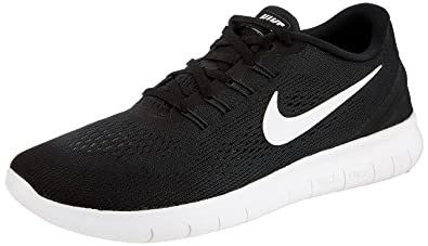 NIKE Men's Free RN Running Shoe Black/Anthracite/White Size 13 ...