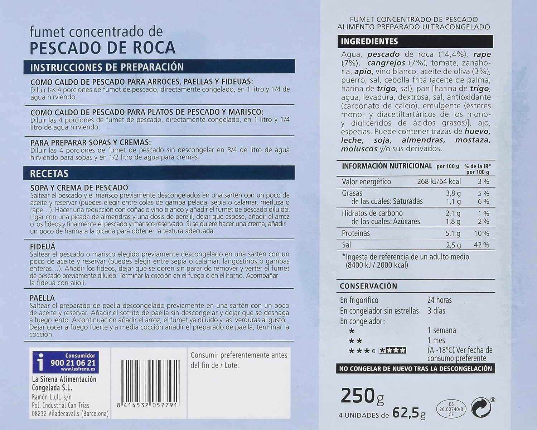 La Sirena - Fumet De Pescado De Roca - 250 g: Amazon.es ...
