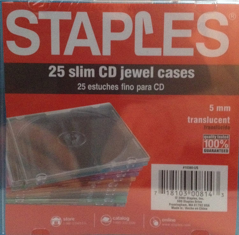 Slim Jewel Cases 25 Pack