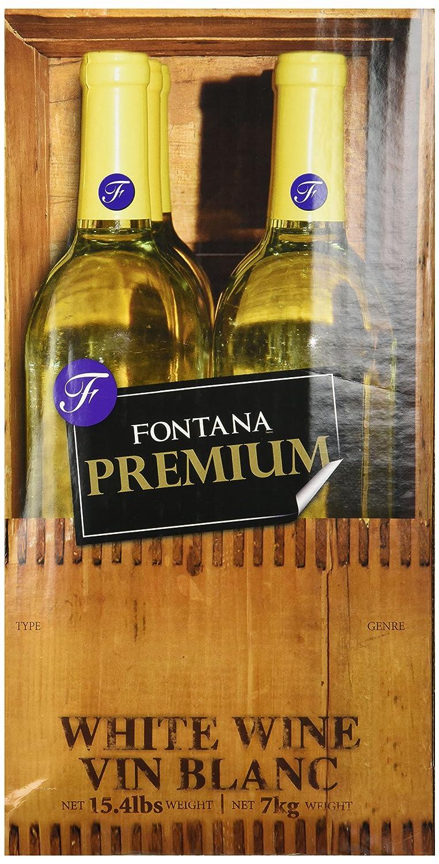 5.2 Lt Fontana Hand Crafted Zinfandel Blush Style Wine Kit ABC Cork Co