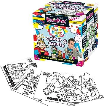 Brain Box - Colour and Create, Juego de Mesa en inglés (90024): Amazon.es: Juguetes y juegos