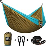 Proventure Camping Hammock & FREE Tree Straps - Lightweight and Compact - For Backpacking, the Beach, Back Yard, Travel, or Any Adventure!