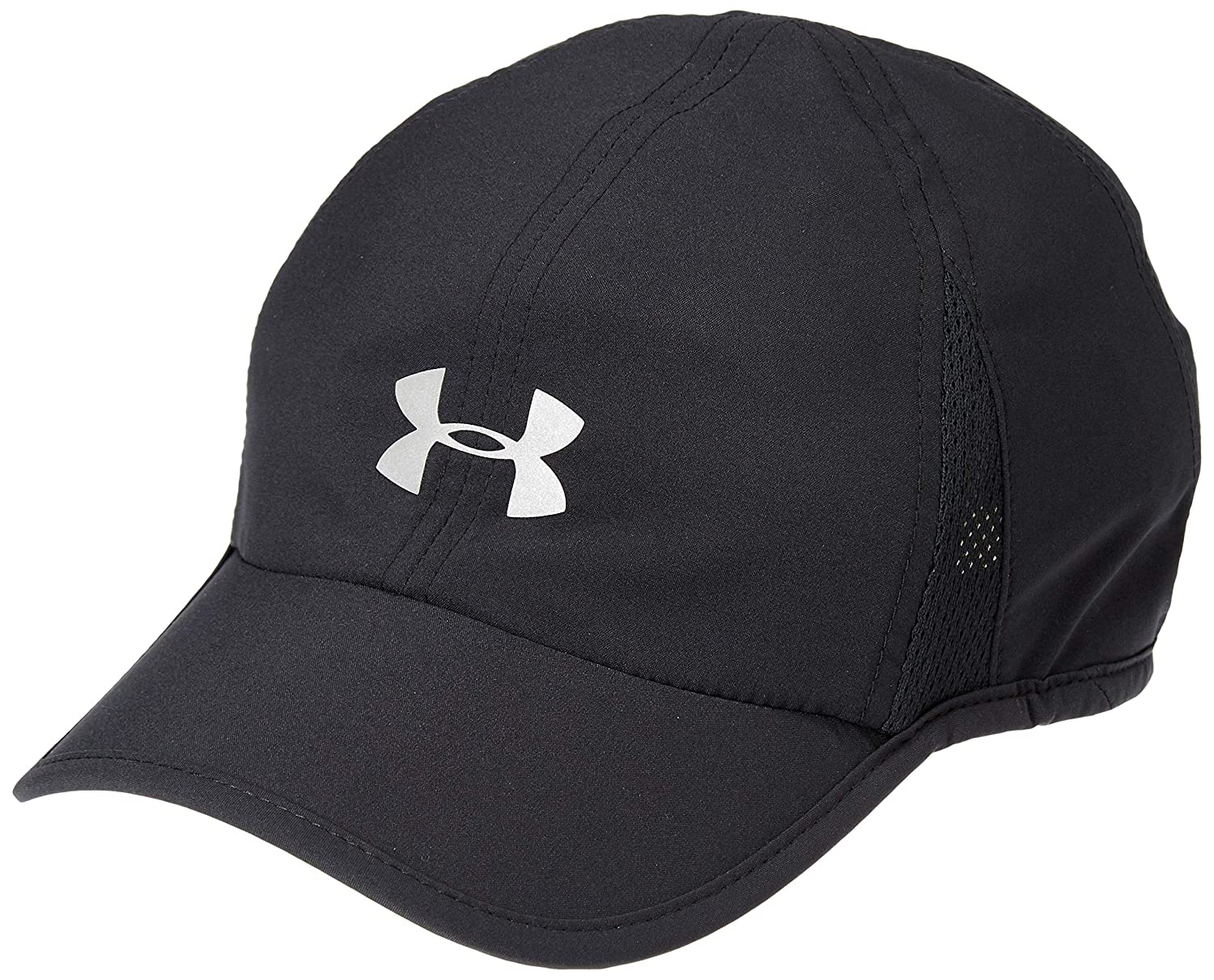 promo code 5333f c267e Amazon.com  Under Armour Womens Shadow 2.0 Cap, Black  Silver, One Size   Clothing