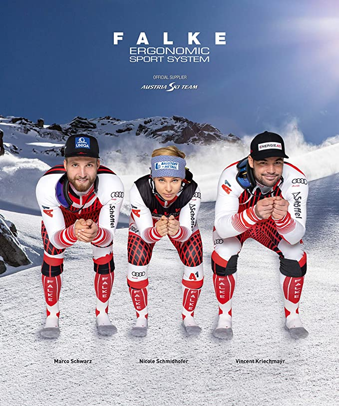 FALKE Energizing Wool Skisocken Skistrümpfe Skiing Compression Herren Farbwahl
