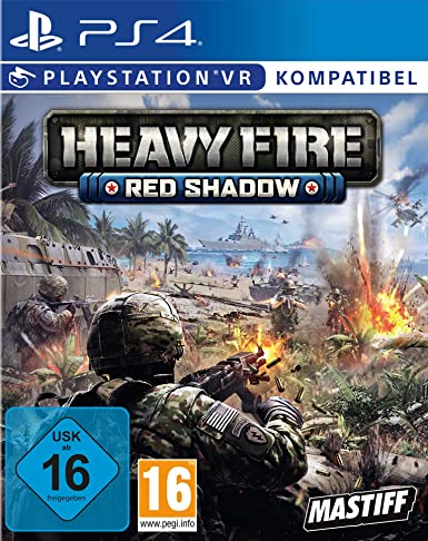 Heavy Fire Red Shadow VR - PlayStation 4 [Importación alemana ...